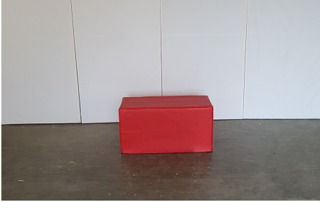 POUF RED TWO